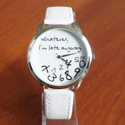 egnyl4-l-610x610-jewels-leather+watch-white-unusual+watch-unique+watch-funny+watch-cool+watch-designer+watch-original+watch--m+late-m+late+watch-ziziztime-ziz+watch